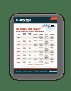 Jet Edge Pump Comparison Chart-min